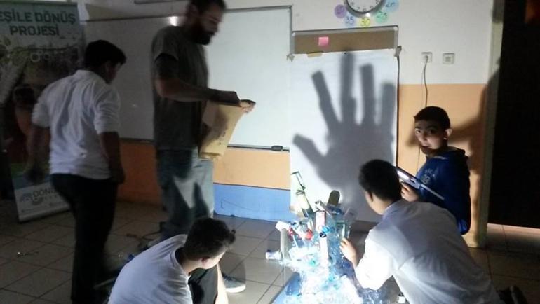 """""""Anadolu Kavağı'nda Sıfır Bütçe ile Sıfır Atık""""  Yeşile Dönüş Projesi"""