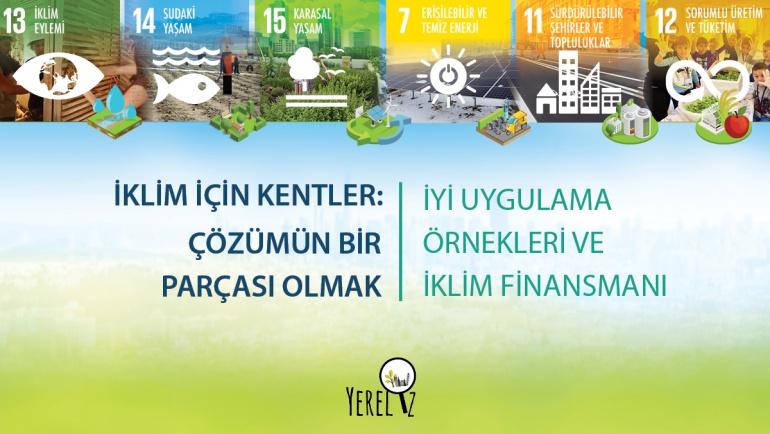 YERELİZ Derneği 'İklim İçin Kentler: Çözümün Bir Parçası Olmak' Kitabını Yayınladı